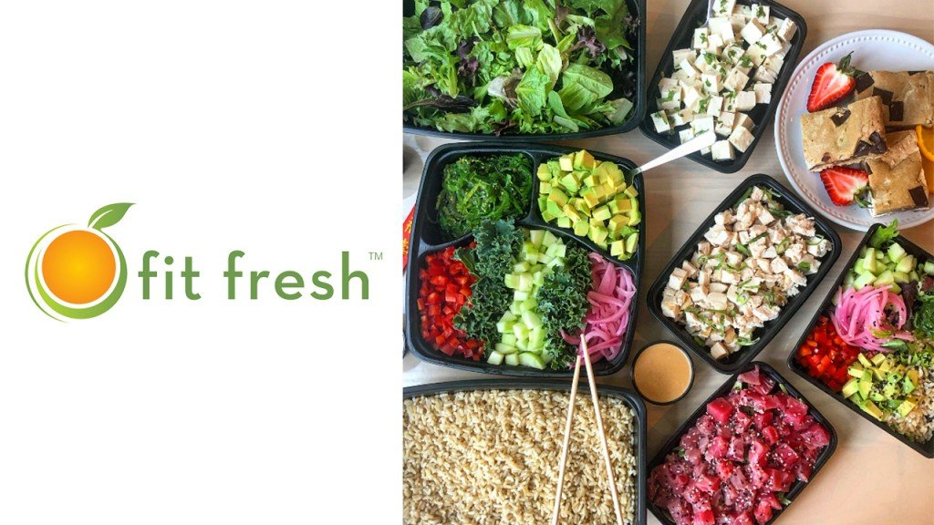 Fit Fresh Cuisine containers of food