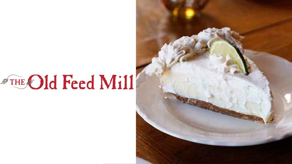 The Old Feed Mill with pie