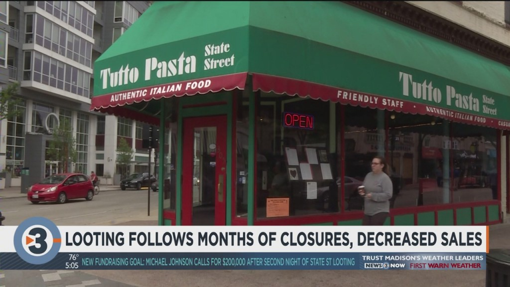 Looting Follows Months Of Closures, Decreased Sales