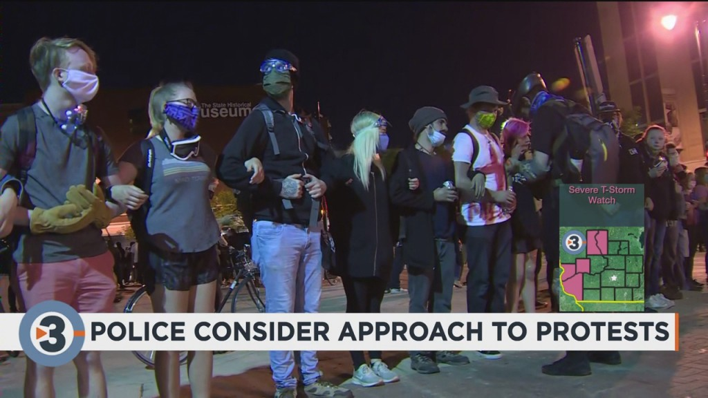 Madison Police Consider Approach To Protests