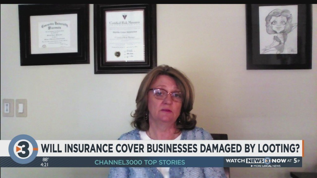 Will Insurance Cover Businesses Damaged By Looting?