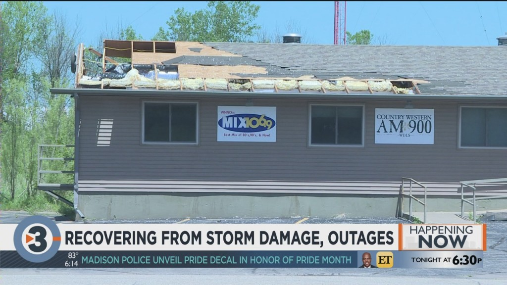 Columbia County Recovering From Storm Damage, Outages