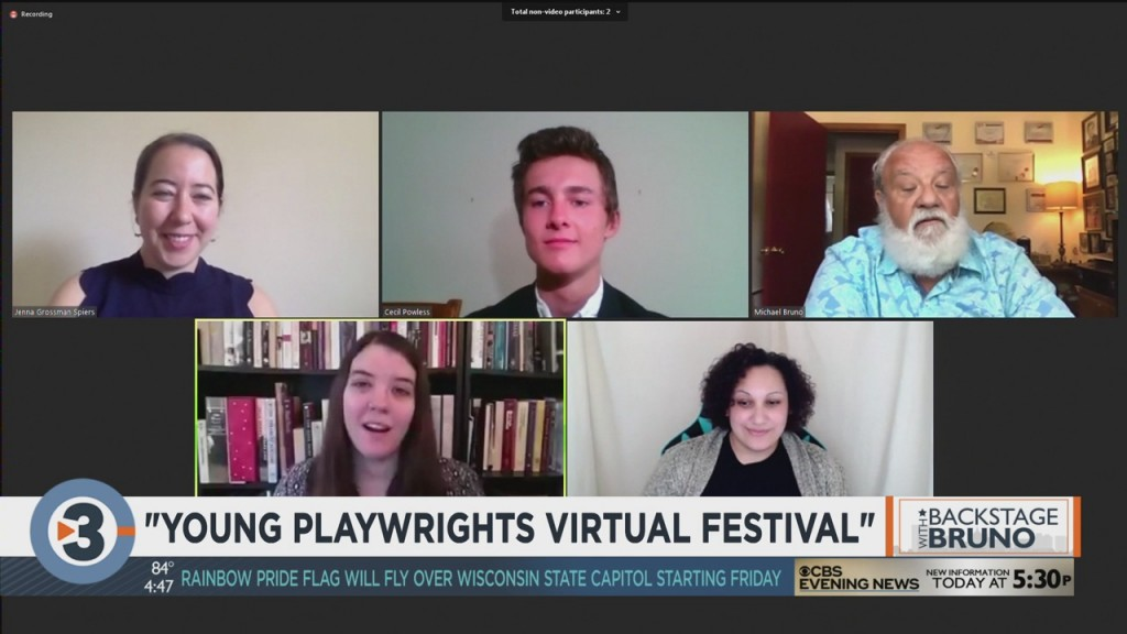Backstage With Bruno: How The Young Playwrights Festival Went Virtualf