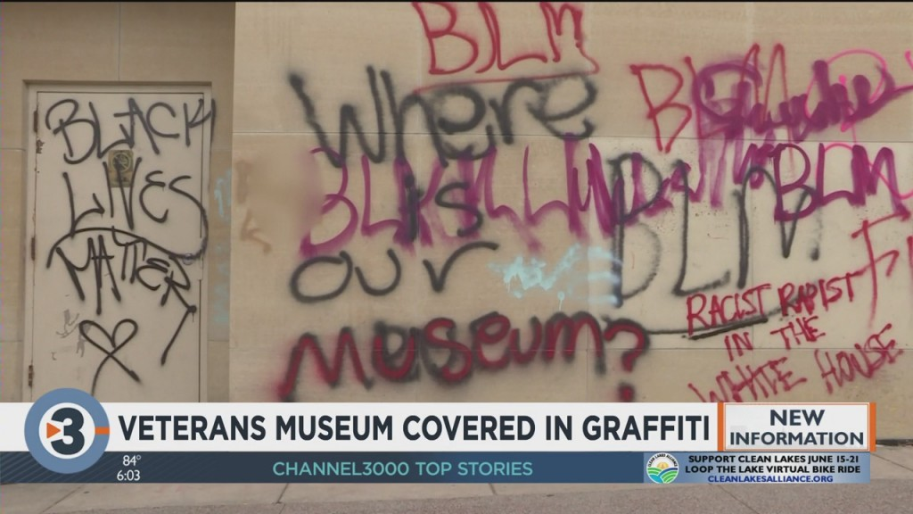 'let's Win Together': Vandalized Veterans Museum Weighs Heavy On Community