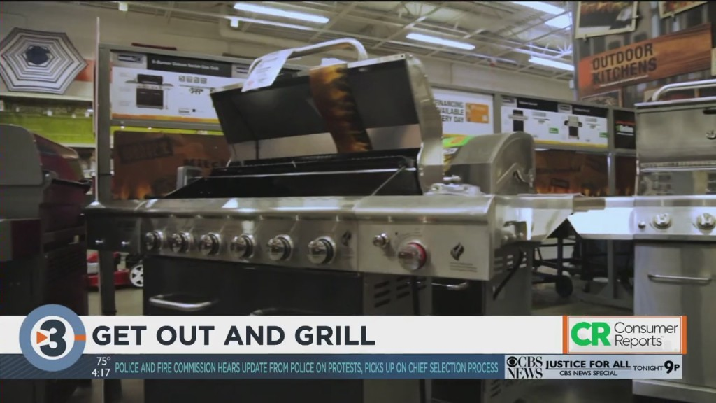 Consumer Reports: Get Out And Grill