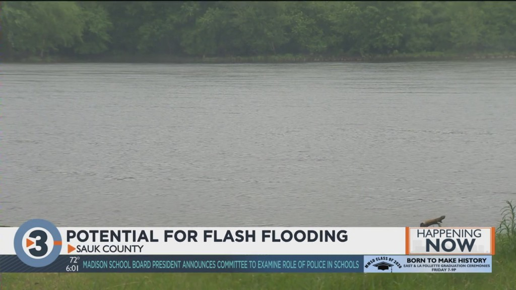 Monitoring Risk Of Flash Flooding In Sauk County