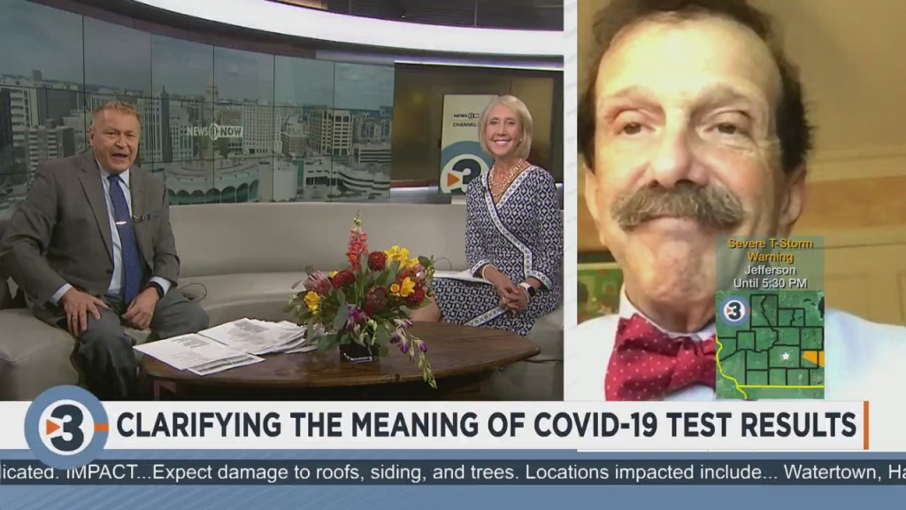 Dr. Zorba Paster Clarifies The Meaning Of Covid 19 Test Results
