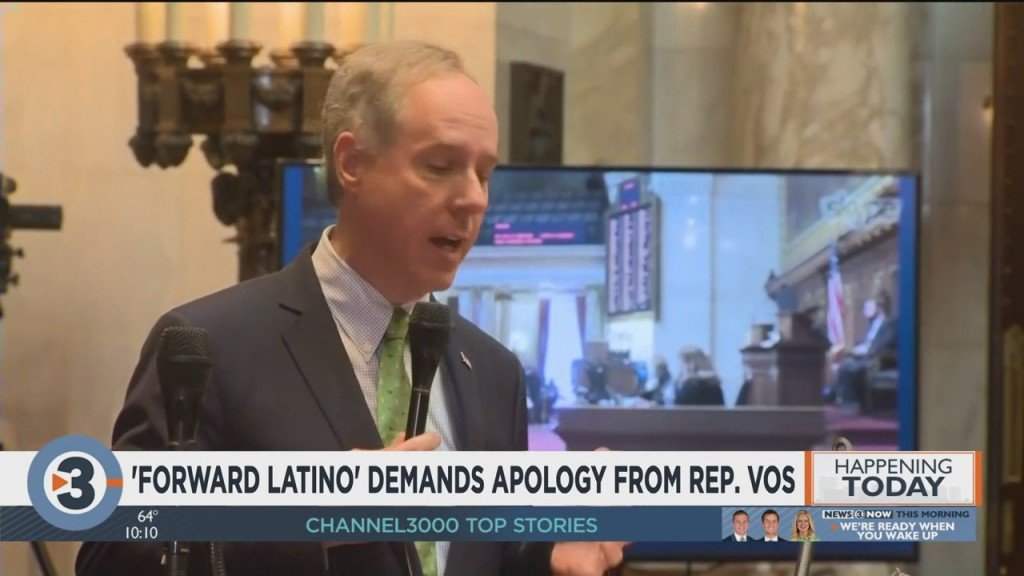 Forward Latino Demands Apology From Rep. Vos