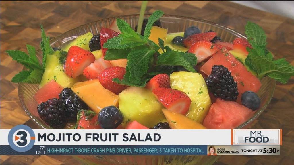 Mr. Food: Mojito Fruit Salad