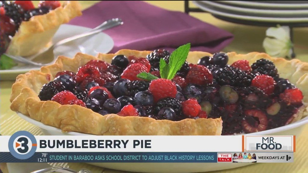Mr. Food: Bumbleberry Pie