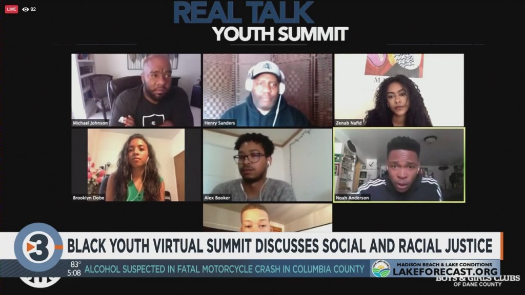 Black Youth Virtual Summit Discusses Social And Racial Justice