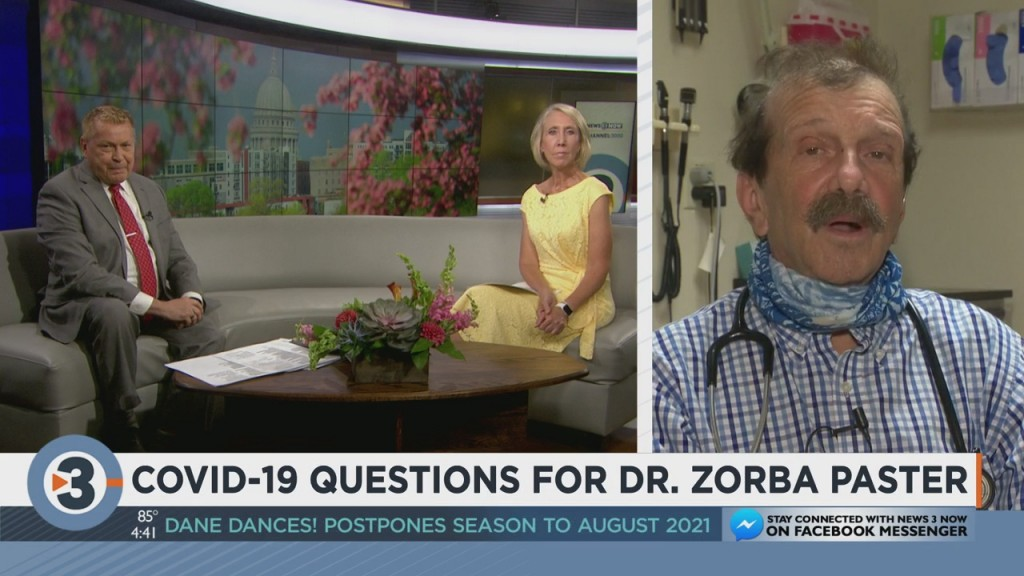 Dr. Zorba Answers Questions About Covid 19