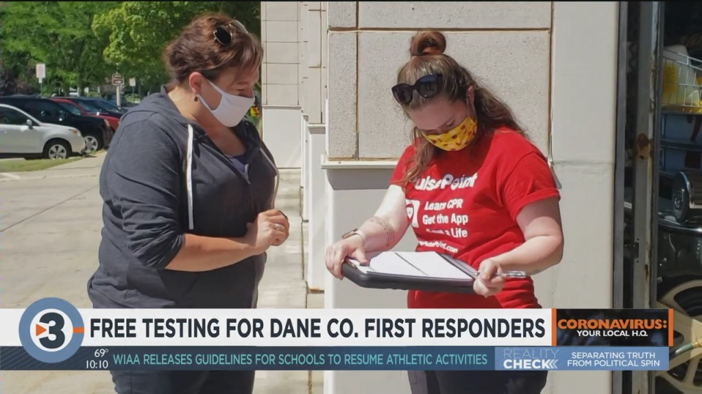 Free Testing Available For Dane County First Responders