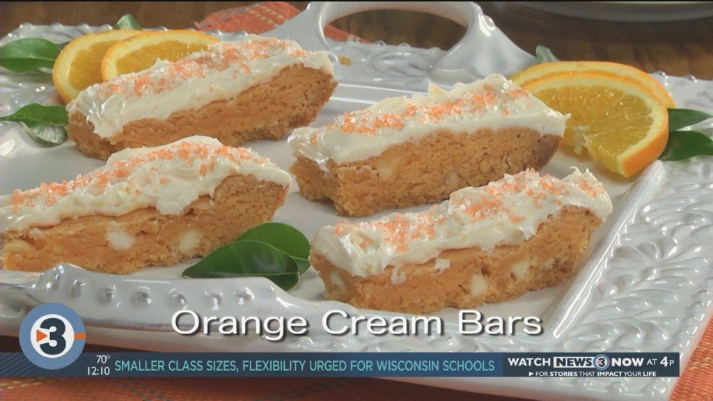 Mr. Food: Orange Cream Bars