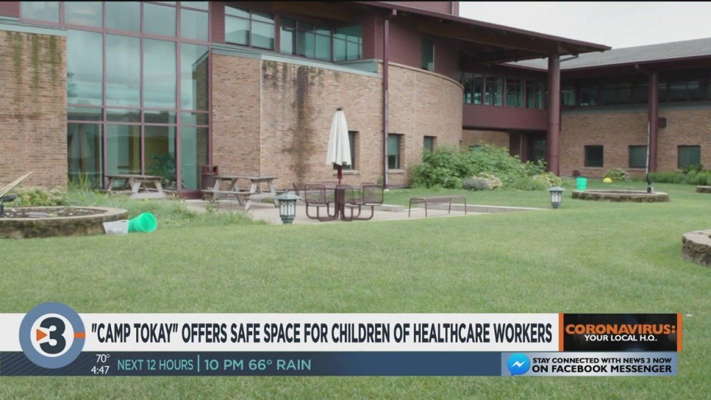 'camp Tokay' Offers Safe Space For Children Of Healthcare Workers