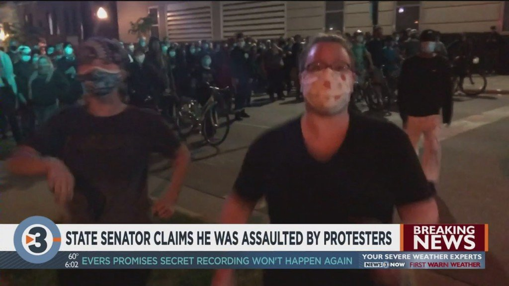 State Senator Says He Was Assaulted By Two Protesters