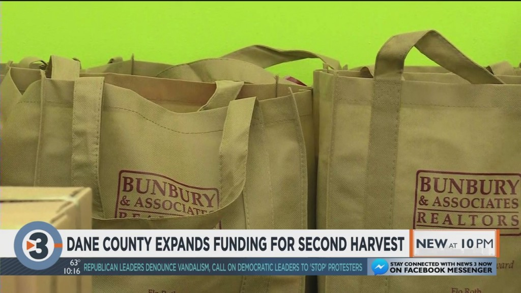 Dane County Expands Funding For Second Harvest