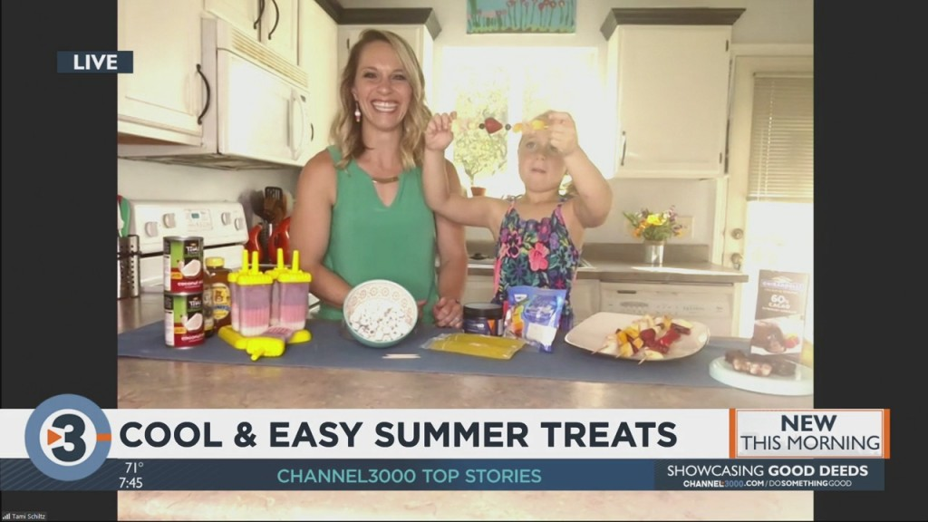 Cool And Easy Summer Treats For The Family To Enjoy
