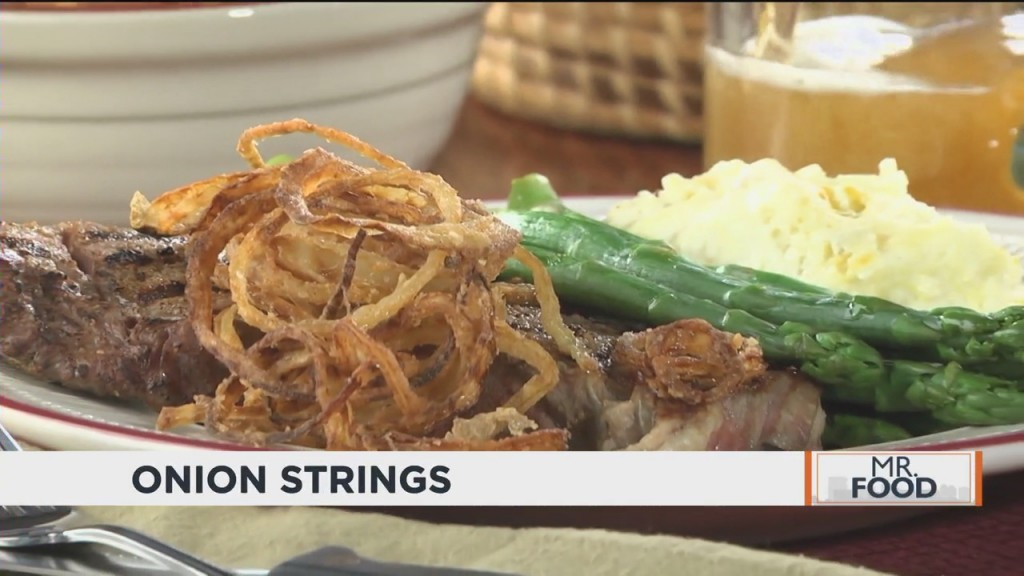 Mr. Food: Onion Strings