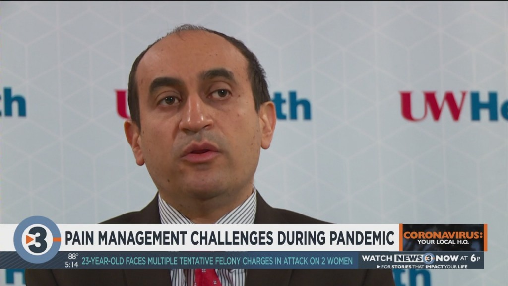 Pain Management Challenges Increasing During Pandemic