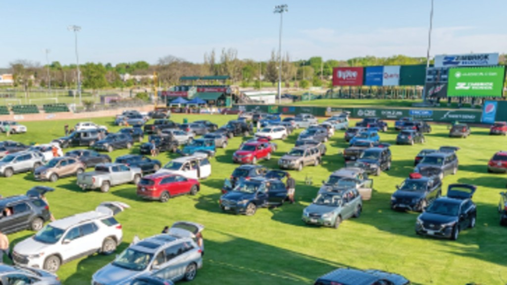 A Photo Of The Madison Mallard's Drive In Lot