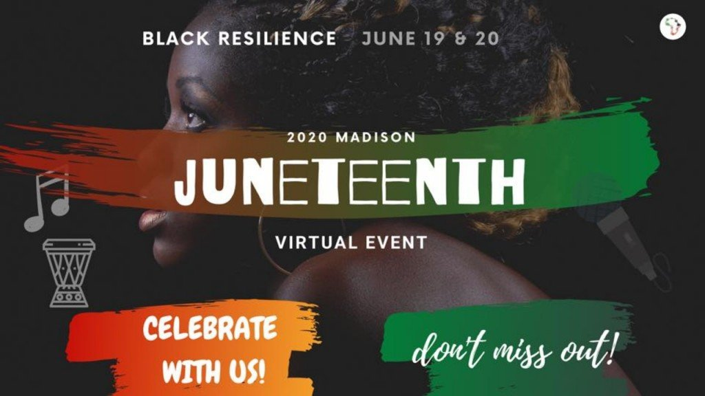 Juneteenth Virtual Event Poster
