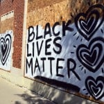 Black Lives Matter painted on A Room Of Ones Own