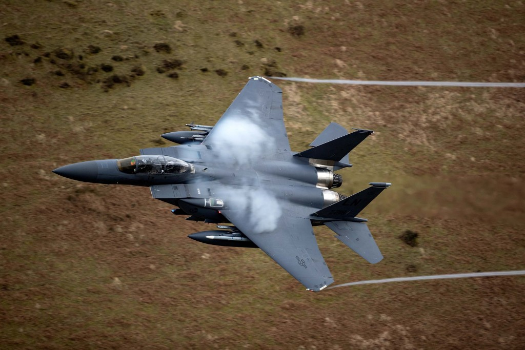Low Level Fast Jet Training In Wales
