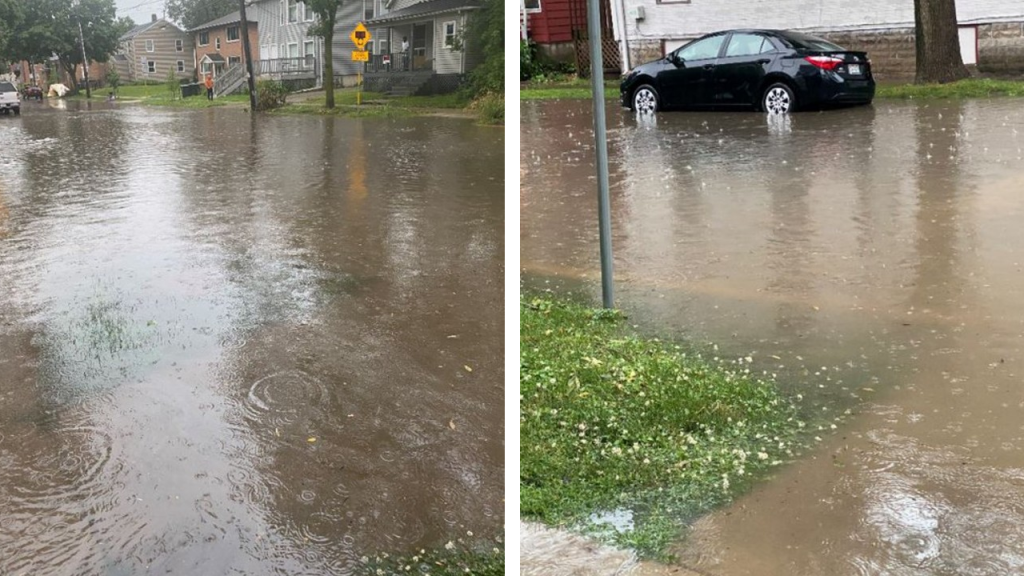 Madison Street flooding