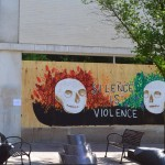 Silence Is Violence mural