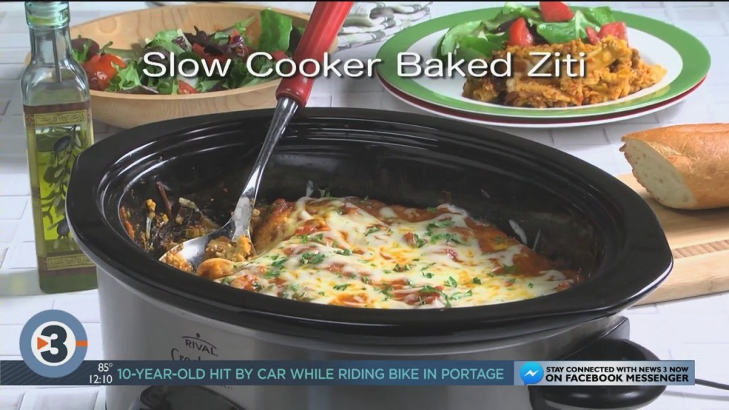 Mr. Food: Slow Cooker Baked Ziti