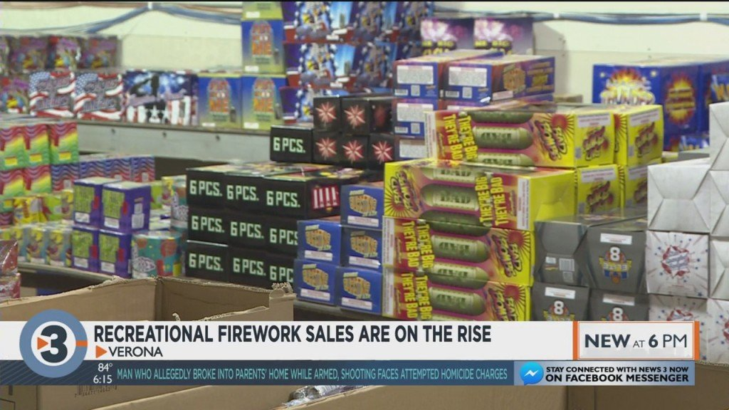 Recreational Firework Sales On The Rise