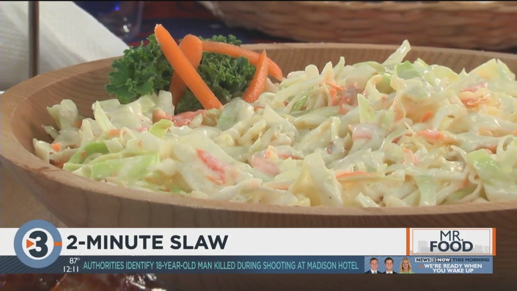 Mr. Food: 2 Minute Slaw