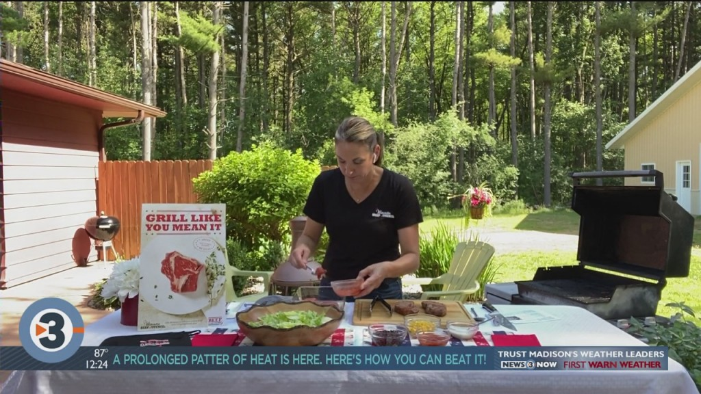Angie Horkan Shares A Steak Salad Recipe That's Perfect For Fourth Of July