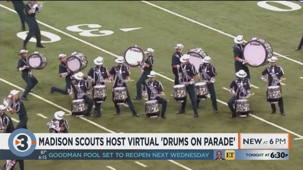 Madison Scouts Host Virtual 'drums On Parade'