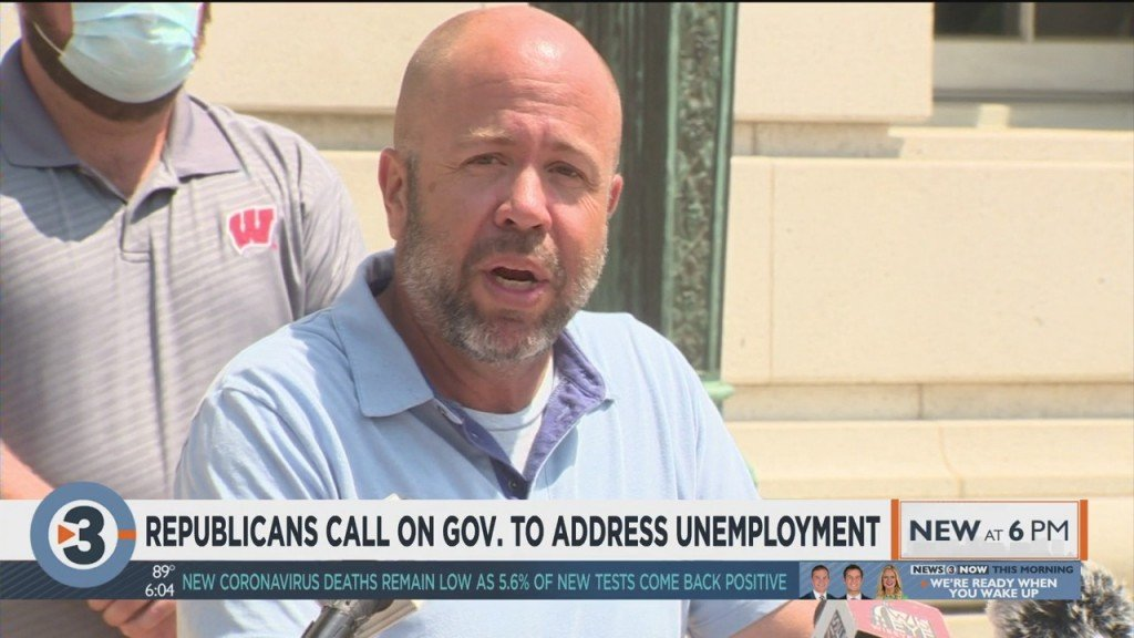 Republicans Call On Gov. Evers To Address Unemployment