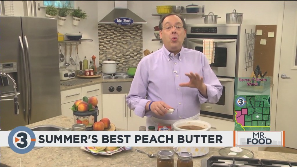 Mr. Food: Summer's Best Peach Butter