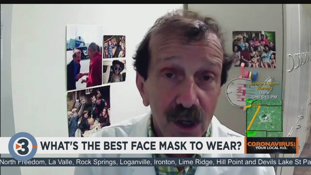 Dr. Zorba Shares Face Mask Tips, The Best Face Mask To Wear To Combat Coronavirus Spread