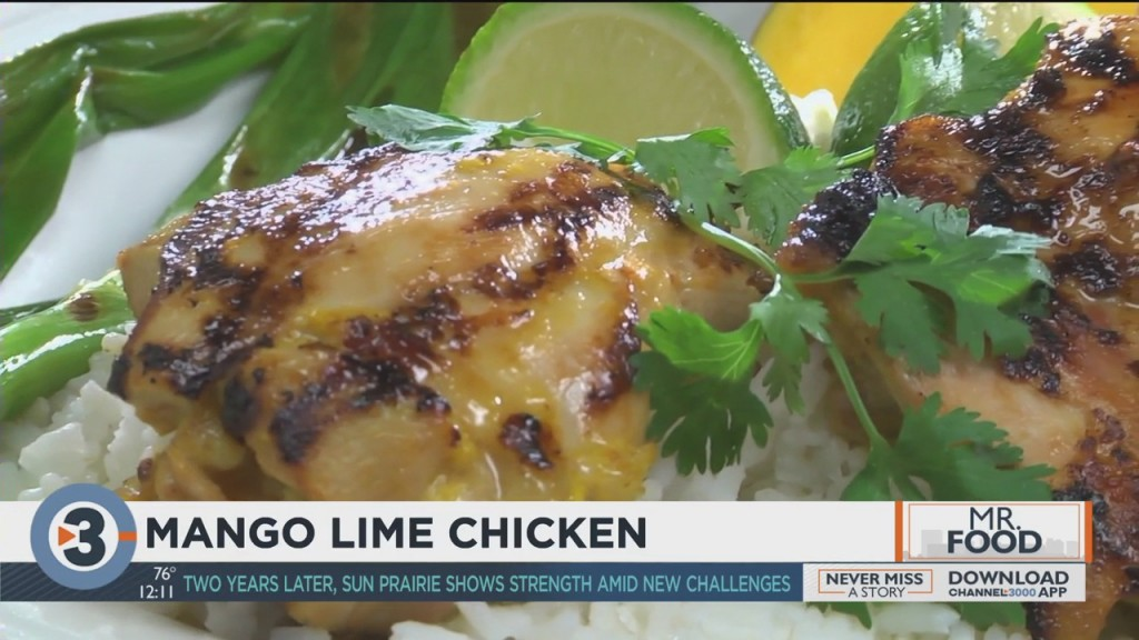 Mr. Food: Mango Lime Chicken