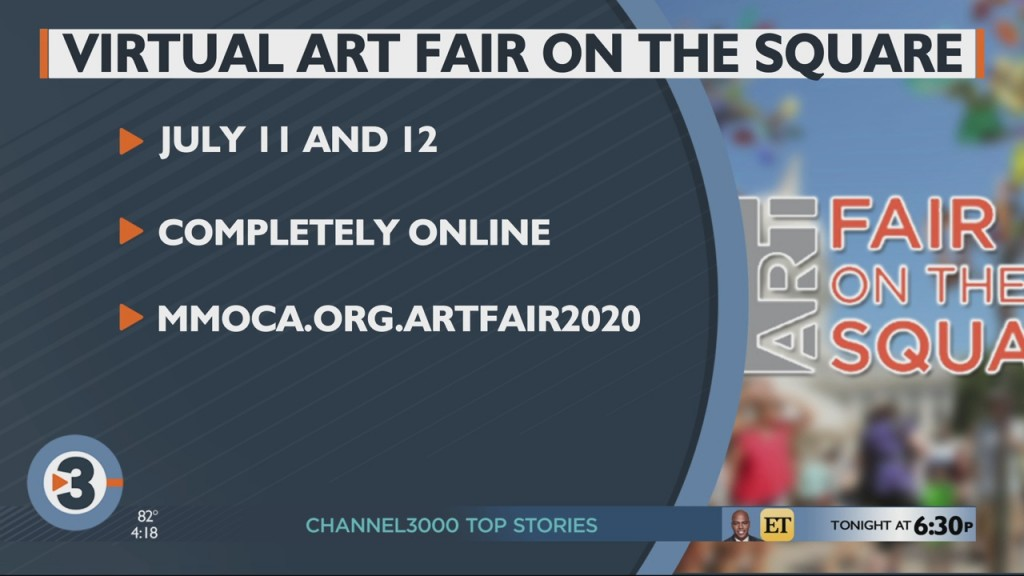 Art Fair On The Square Returns (in Virtual Form) This Weekend