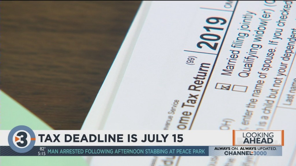 Tax Deadline Is July 15