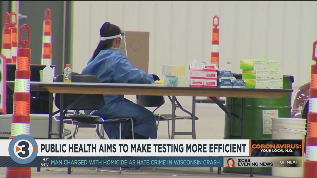 Public Health Aims To Make Testing More Efficient