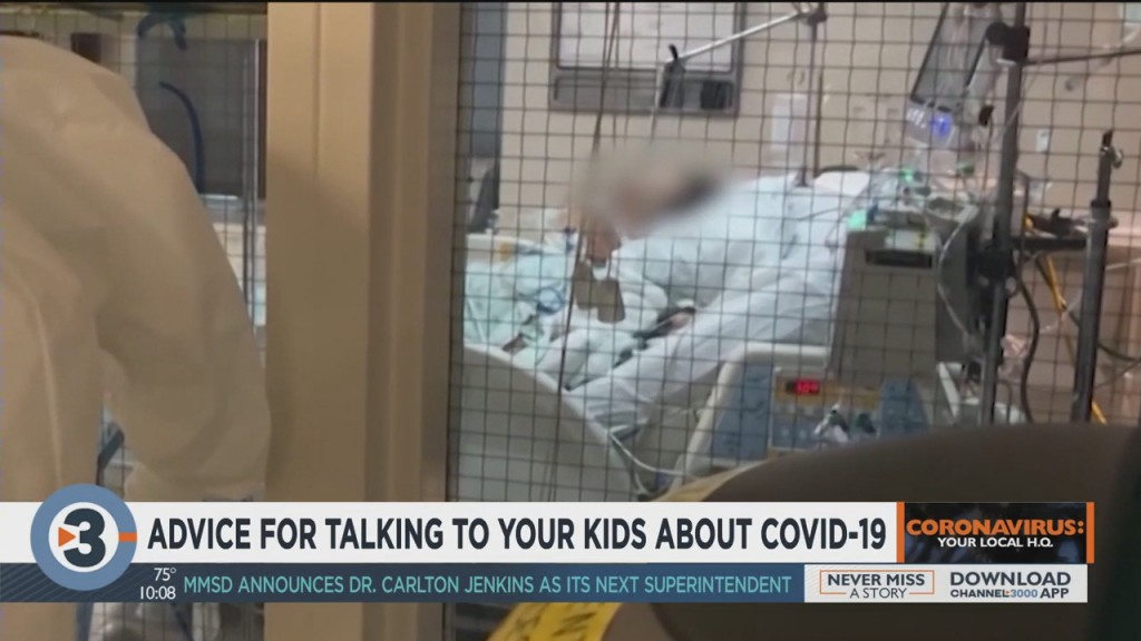 Uw Health Shares Advice For Talking To Your Kids About Covid 19