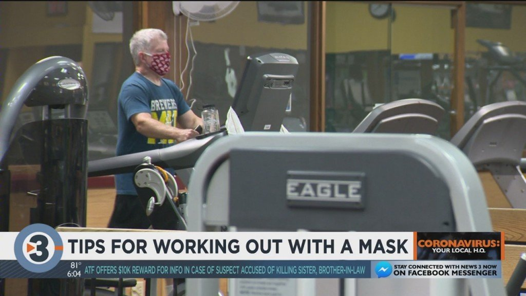Tips For Working Out With A Mask