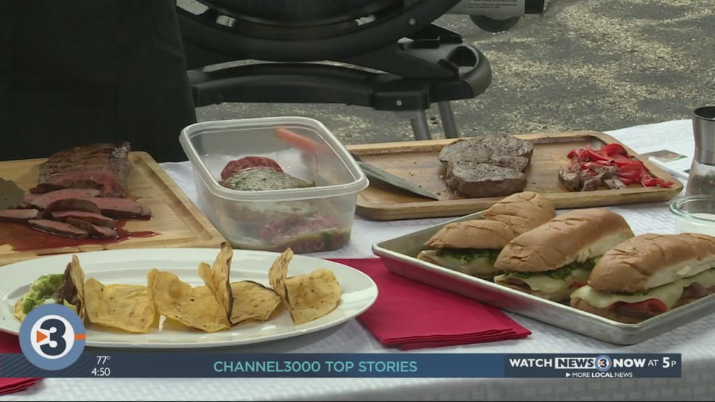 Angie Horkan Shares Two New Recipes Perfect For Summer Grilling