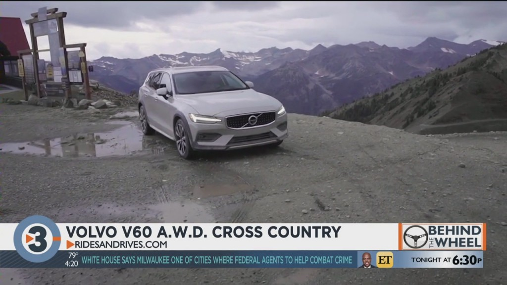 Behind The Wheel: 2020 Volvo V60 Awd Cross Country