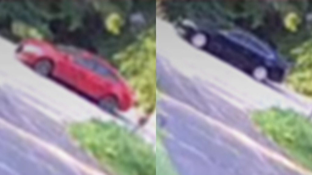 Gun Store Robbery Suspect Vehicles