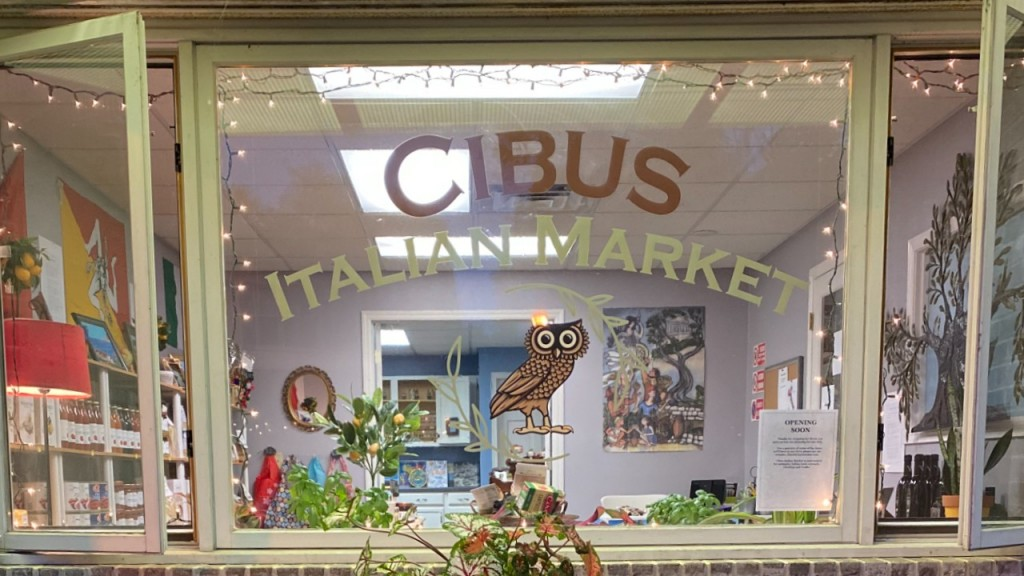 Cibus Italian market, a new market in Waunakee, WI.
