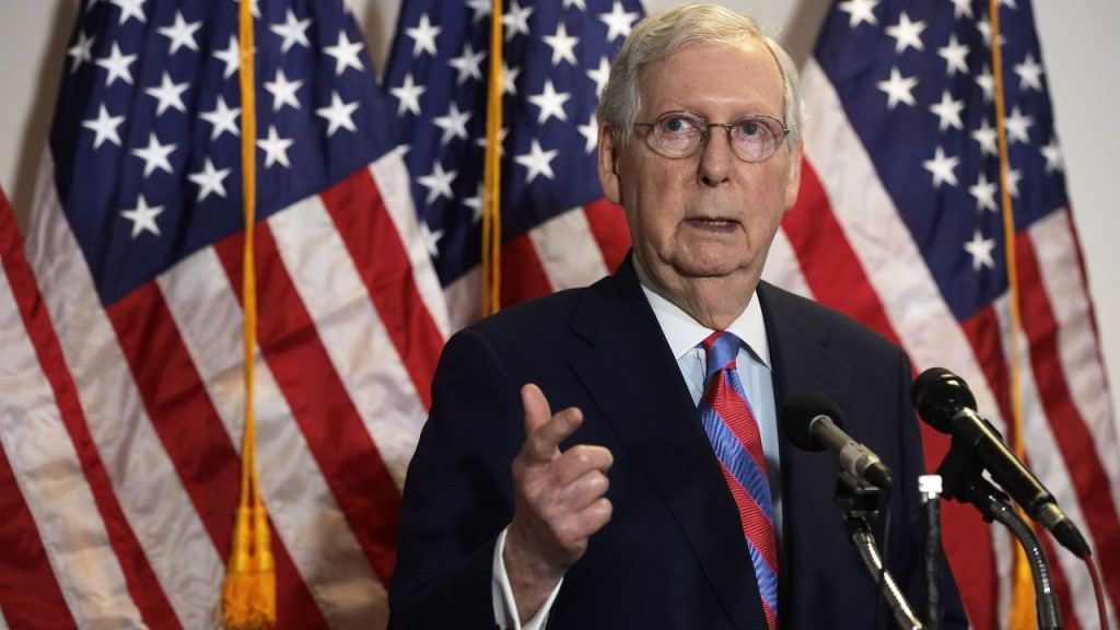 Senate Majority Leader Sen. Mitch Mcconnell Viacnn 1280