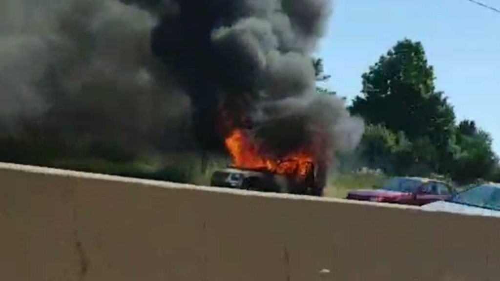 Vehicle Fire On The Beltline